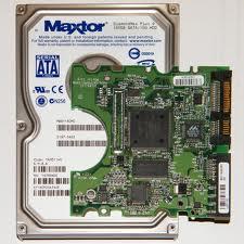 hard drive & board